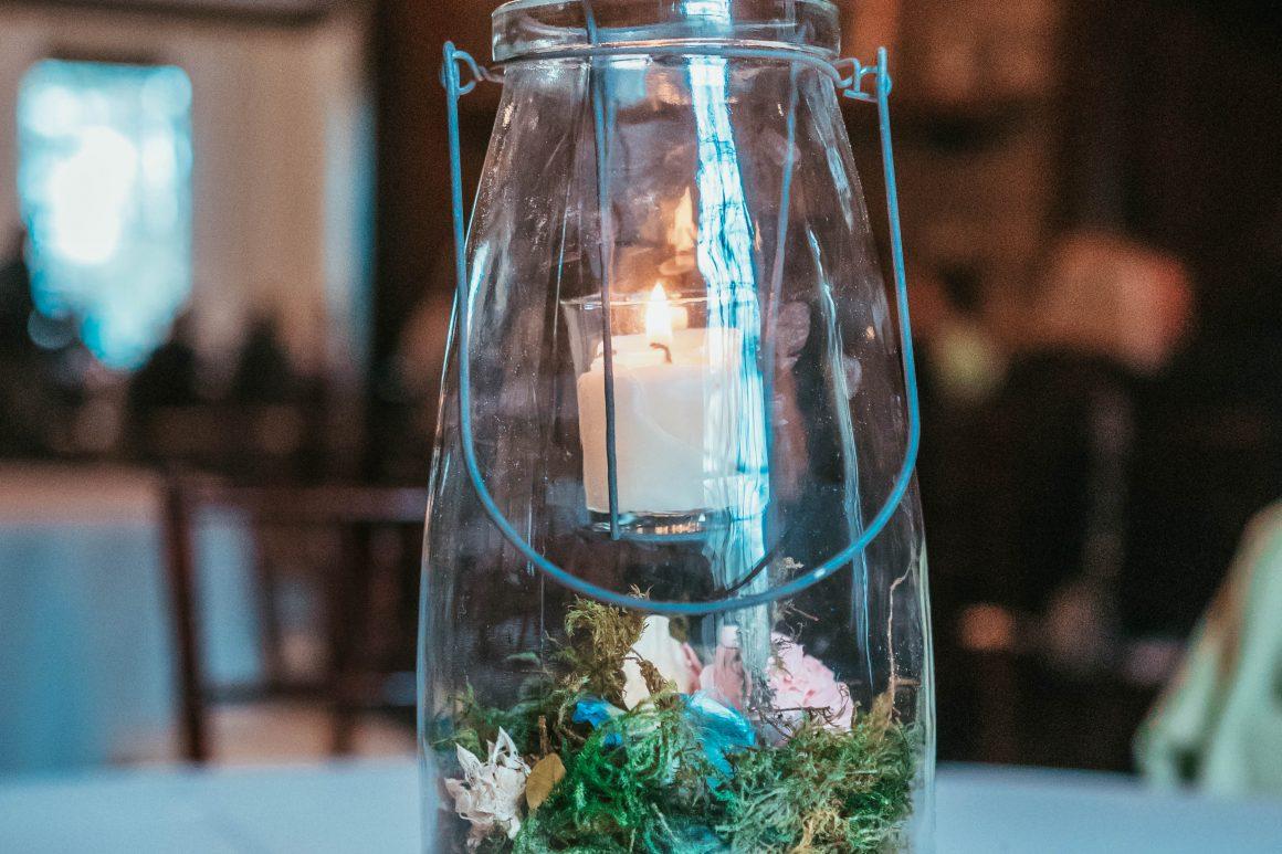 DIY Woodland Wedding Centerpiece - Digital Molt