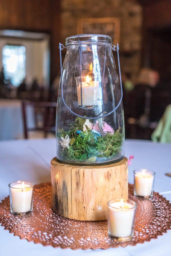 Diy Woodland Wedding Centerpiece Digital Molt