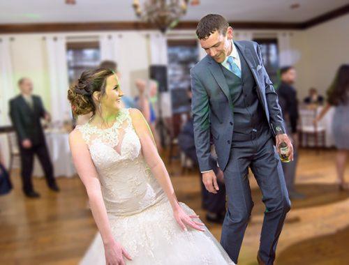 bride and groom dancing at wedding reception digital molt