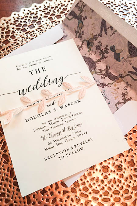 my diy wedding invitation